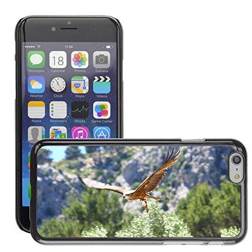 "Bild Hart Handy Schwarz Schutz Case Cover Schale Etui // M00134681 Raptor Raubvogel Fly // Apple iPhone 6 PLUS 5.5"""