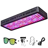 BESTVA 2000W LED Grow Light Full Spectrum for Indoor Plants Veg and Flower