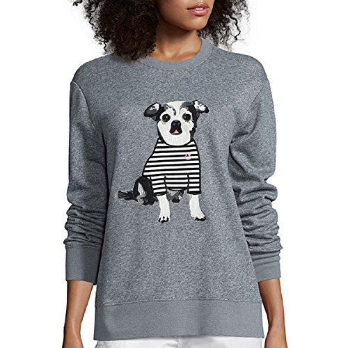 I Heart Ronson Long-Sleeve Chihuahua Dog Oliver Sweatshirt for sale  Delivered anywhere in USA