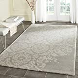 Safavieh Bella Collection BEL125B Handmade Light Grey and Ivory Premium Wool Area Rug (6′ x 9′) Review
