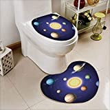 Best Harmony Pc Brands - iPrint 2 pcs Toilet Cover Set Non-Slip mat Review
