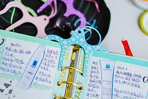 /Livre de musique Clip/ Amupper M/étal page support/ /Taille 2.6//× 9,1/cm green