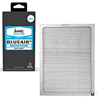 3 Home Revolution Replacement HEPA Filters, Fits Blueair 500/600 Series 501, 503, 505, 510, 550E, 555EB, 601, 603, 605, & 650E Air Purifier Models