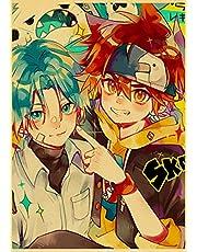 Anime Sk8 De Infinity Poster Thuis Kamer Decoratie Frameloze Vintage Canvas Schilderij Posters Cartoon Art Schilderen D266 50X70 Cm