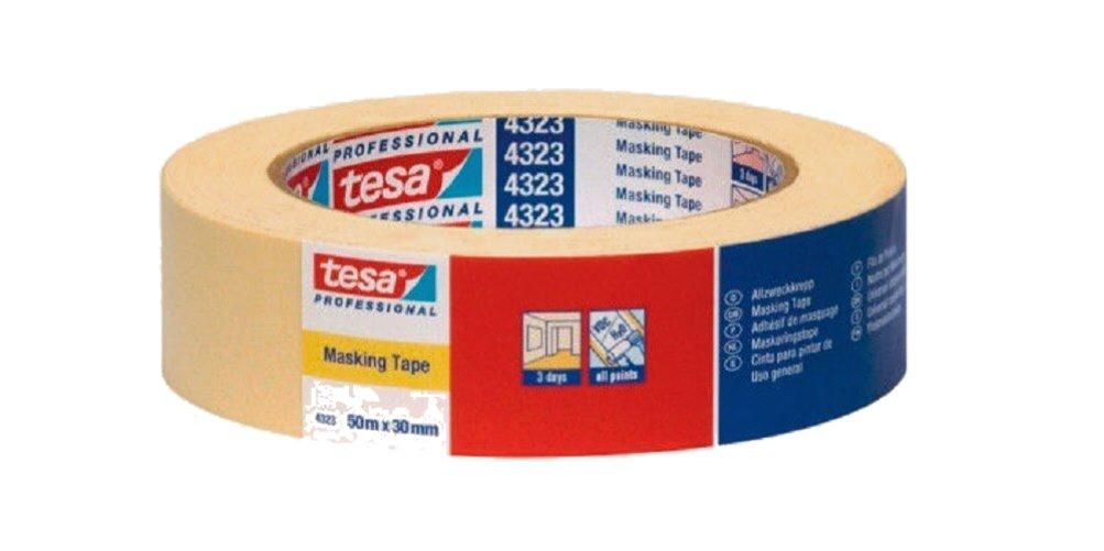 Tesa Tape –  Masking Tape Paper 50 x 50 4323 282-6703