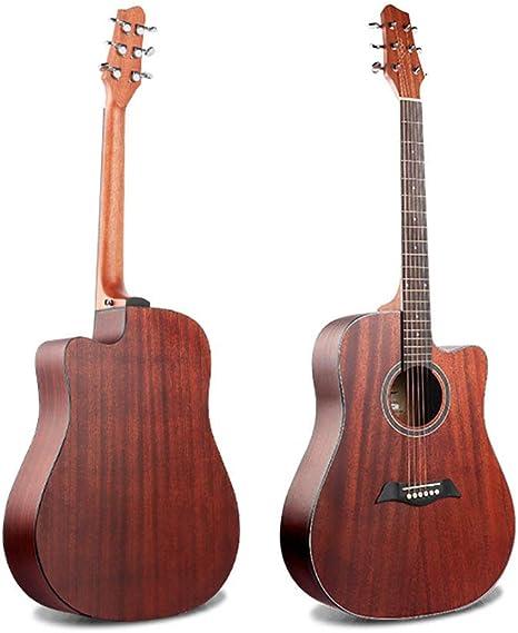 BLKykll Guitarra Acústica 41 Pulgadas,Guitarra Cadete –Guitarra ...