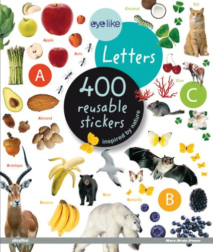 Eye Like Stickers: Letters by Brand: Play Bac
