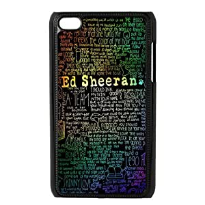 Customize Famous Singer Ed Sheeran Back Cover Case for ipod Touch 4th