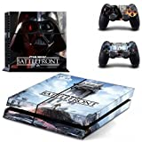 Cheap STAR WARS BATTLEFRONT VADER VINYL SKIN FOR PS4 STANDARD EDITION