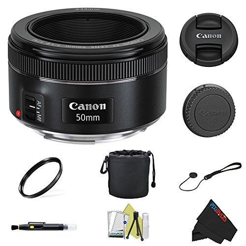 Canon EF 50mm f/1.8 STM Lens + Pixi-Basi - Basic Bundle Shopping Results