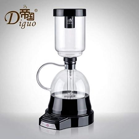 LinZX Cafetera sifón 3 Tazas de café por Goteo té sifón vacío ...