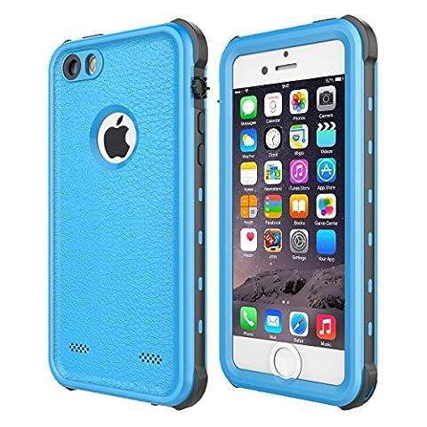 iPhone 5 5S SE Case Waterproof, iThrough 【NEW】iPhone 5 5S SE Underwater Case/2M, Shockproof Dirtproof Snowproof Rain Proof, Heavy Duty Full Protection Phone Case Cover for iPhone 5 5S - Iphone 5 Phone Case
