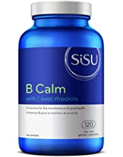 Sisu - B Calm With Rhodiola - Full-spectrum B vitamin formula plus rhodiola to support overall health, particularly in people under physical or mental stress - 120 Vegicaps
