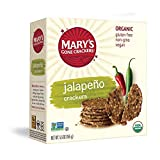 Mary's Gourmet Organic Jalapeno Crackers, 155g