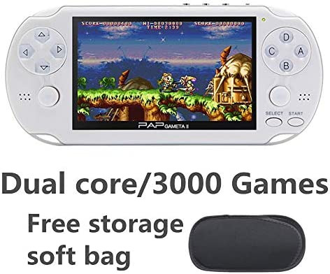 Amazon.com: CZT Dual core 4.3 inch Handheld Game Console ...