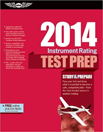 Instrument Rating Test Prep 2014 Book and Tutorial Software Bundle (Test Prep series)