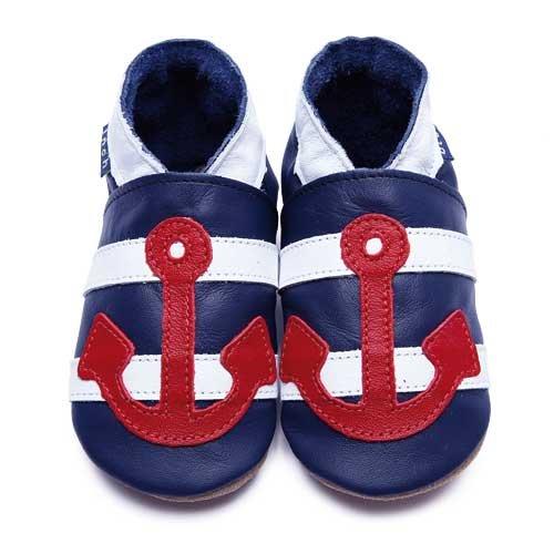 Couro Rastreamento Sapatos Azul Polegada Marinheiro De Azul Polegada Marinho BTpqaPRxA