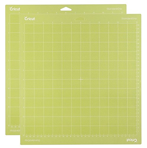 Cricut Adhesive Cutting Mat Standard Grip 12 x 12 2 pieces Per Package by Cricut