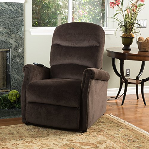 Christopher Knight Home 298308 Alan Lift Up Recliner Chair, 33.08 D x 36.23 W x 40.95 H, Chocolate