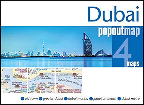 Dubai PopOut Map (Popout Maps): Amazon.de: Popout Maps ...