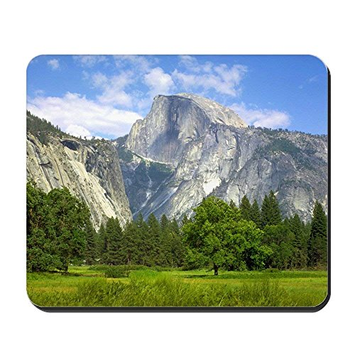 Mousepad Half Dome Yosemite Valley - Non-Slip Rubber Mousepad, Gaming Mouse Pad 1822cm -