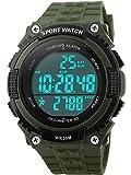 Gosasa Easy Read Waterproof Sports Watches Men Women Army Military Watch Stopwatch 3D Pedometer Led Digital Wristwatch