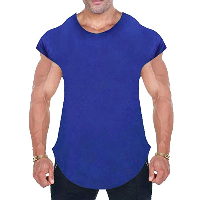 MEIHAOWEI Fitness Hombres Ropa Músculo Gorila Sólido Gym Tank Tops Hip Hop Chaleco Street Wear Crossfit Camiseta Sin Mangas: Amazon.es: Ropa y accesorios