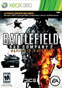 Battlefield Bad Company 2 Ultimate Edition -Xbox 360
