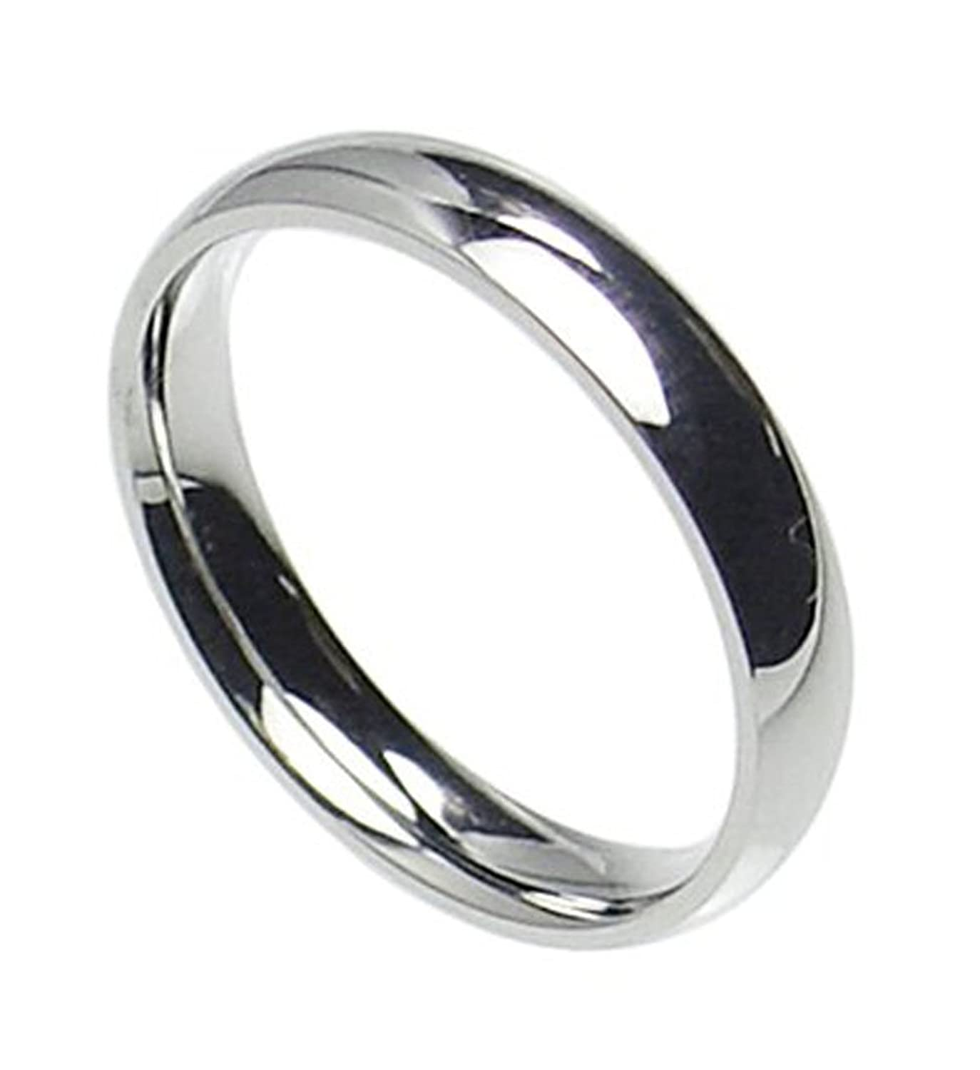 size comfort stainless plain com box steel dp gift band wedding comes rings fit ring with free amazon