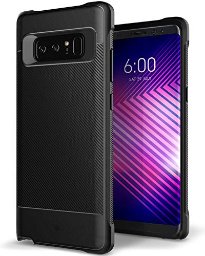 Caseology Vault for Galaxy Note 8 Case (2017) - Minimal & Protective - Black