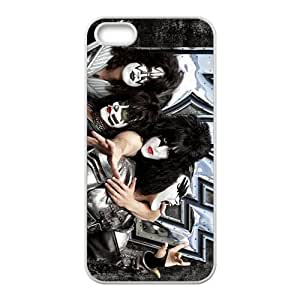 Rock Band Kiss Cell Phone Case for Iphone 5s