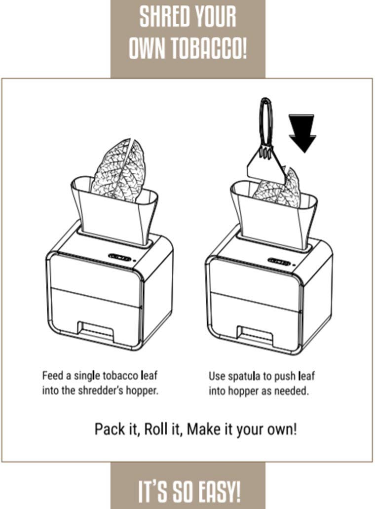 Leaf Only Electric Whole Tobacco Shredder and Grinder, One Size by Leaf Only (Image #1)