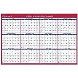 at-A-Glance 2018-2019 Academic Year Wall Calendar, X Large, 32 x 48, Erasable, Vertical/Horizontal, Reversible (PM36AP28)