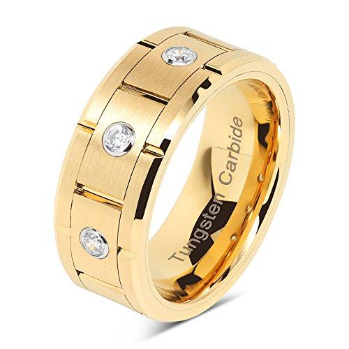 Buy mens diamond titanium rings
