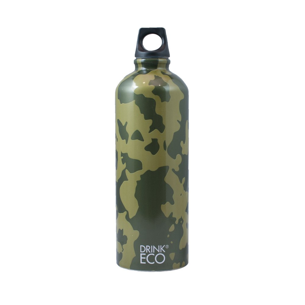 Alusport Bottles Drink Eco Camouflage Botella Deportiva, Unisex Adulto, L Alucan Entec SA 74ALSPB15A