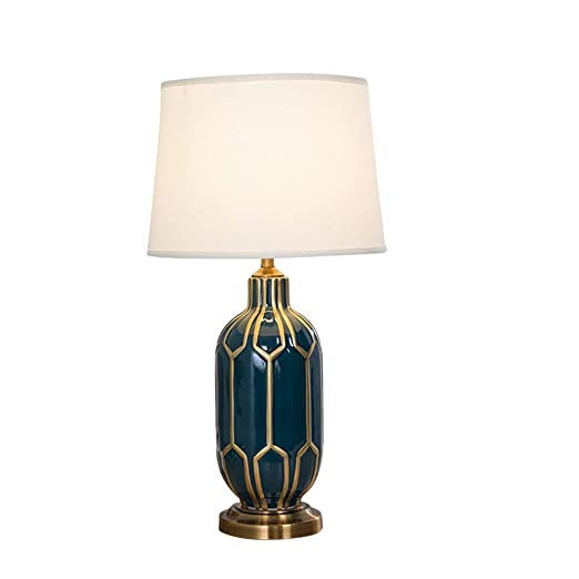 Ceramic Table lamp American Cloth Table lamp Bedroom Living ...