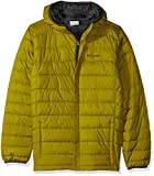 Columbia Boy's Little Powder Lite Puffer Water-Resistant Insulated Jacket, Python Green X-Small