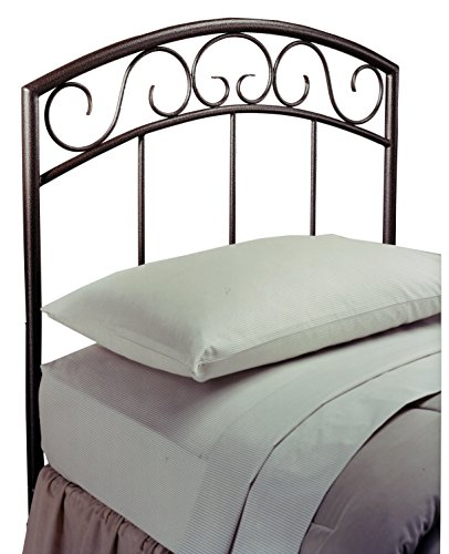 Hillsdale Furniture 299-34 Wendell Headboard Without Rails, Twin, Copper ()