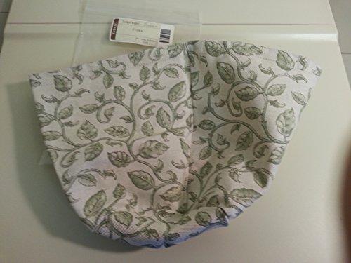 Longaberger Flora Garden Vine Fabric Over Edge Liner New Item 28518154
