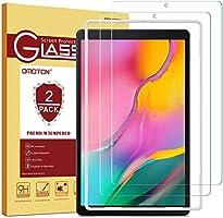 OMOTON [2 Stück] Panzerglasfolie für Samsung Galaxy Tab A 10.1 (2019) T510 und T515,mit [2.5D abgerundete Kanten ] [9H...