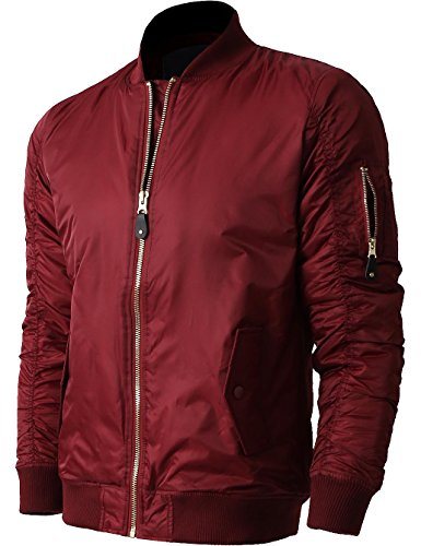 Hat and Beyond Mens MA-1 Bomber Jacket Lightweight for sale  Delivered anywhere in USA