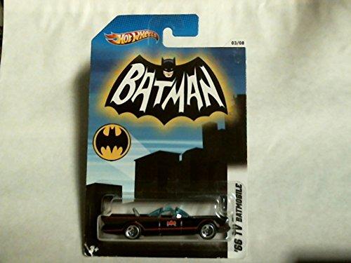(Hot Wheels 2011 Batman '66 TV Batmobile 3/8 X4326 Pop Culture Adam West)