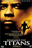Remember the Titans (Widescreen Edition): more info