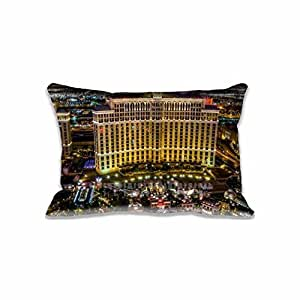 Amazon Com Bellagio Hotel And Casino Pillow Case Cover