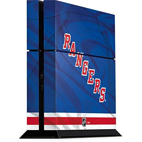 NHL New York Rangers Playstation 4 PS4 Console Skin - New York Rangers Home Jersey Vinyl Decal Skin For Your Playstation 4 PS4 Console
