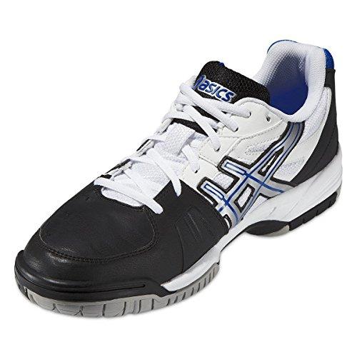 Asics Zapatillas de Tenis Para Hombre Gel Game 4, Color Negro, Talla 40.5