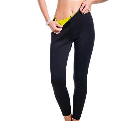 393b9dd392bc Panegy Women Neoprene Slimming Long Pants Thermo Shaper Pants Sweat Sauna  Suit Weight Loss Leggings Workout