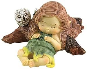 Parte superior Collection de hada en miniatura jardín y terrario dormir Little Fairy