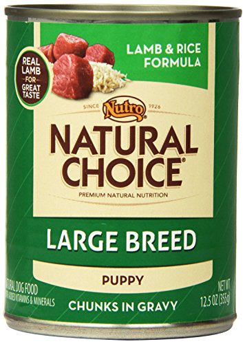 Natural Choice Dog Large Breed Lamb and Rice Dinner Puppy Fo