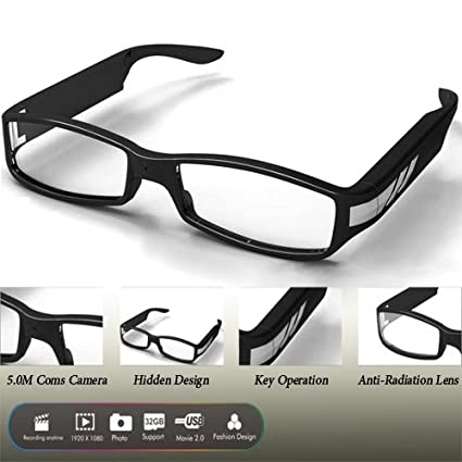 HD 1080p Gafas de sol cámara espía DVR 5 megapíxeles por Online-Enterprises